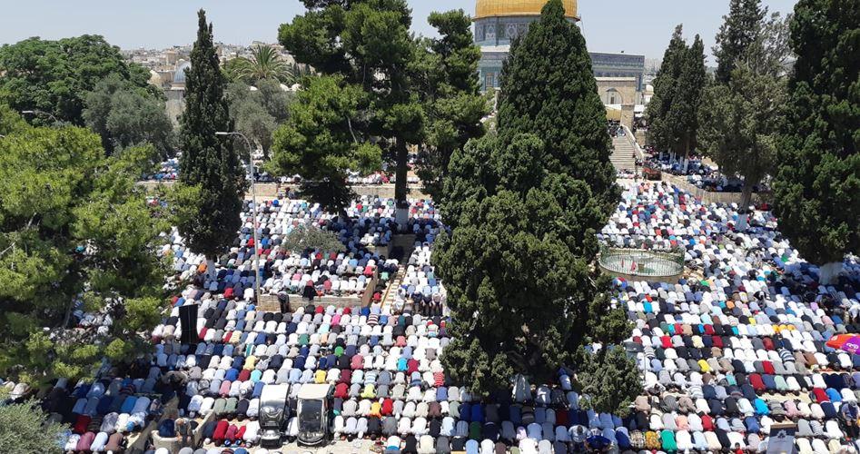 خطيب الأقصى المسجد الأقصى للمسلمين وحدهم