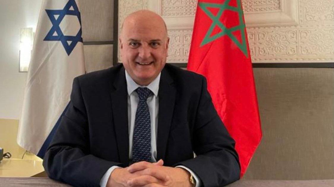 السفير الإسرائيلي غوفرين يصل إلى الرباط