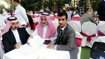 سلطان عمر الشوشان ..  خطوبة مباركة