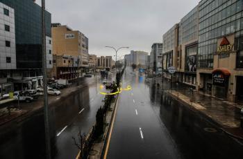 الأحد ..  أمطار متفرقة ورعد وتحذير من الانزلاقات