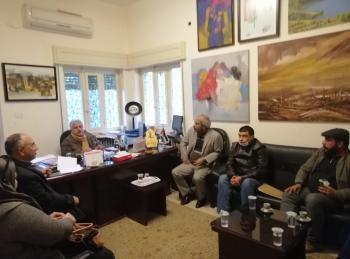 توزيع مهام الهيئة المؤقتة لـالتشكيليين الأردنيين