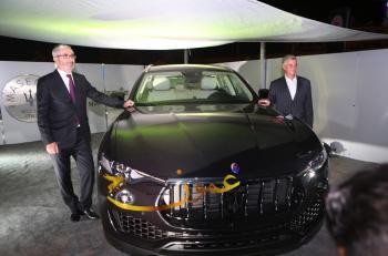 ليڤانتي: أول سيارة رياضية متعددة الاستعمالات من مازيراتي تصل الى الأردن