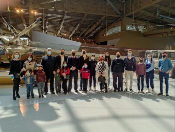 جمعية النجمة تنظم زيارة لمتحف الدبابات الملكي