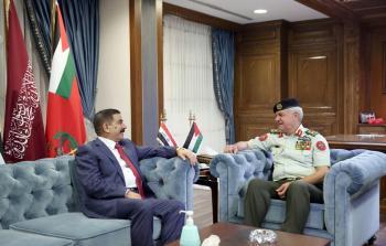 رئيس هيئة الأركان يستقبل وزير الدفاع العراقي
