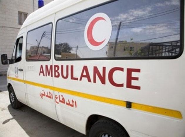 9 إصابات بحادث تصادم في كفرنجة