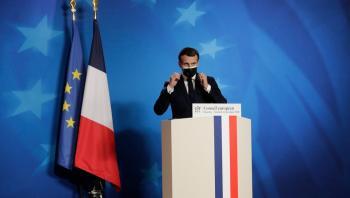 الرئيس الفرنسي ماكرون يعارض إقامة دوري السوبر الأوروبي