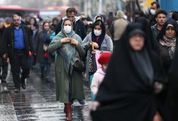 ايران تسجل 109 وفيات و 2628 اصابة جديدة بفيروس كورونا