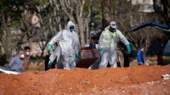 البرازيل: 277 وفاة و13439 إصابة جديدة بفيروس كورونا
