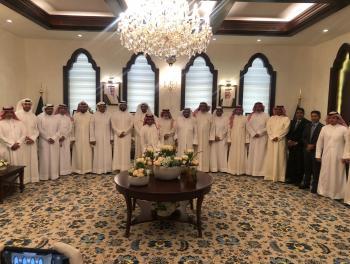 السفير الكويتي يولم على شرف أعضاء في البعثة الدبلوماسية