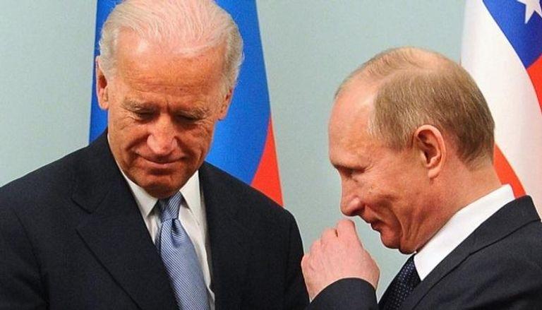 بايدن: لا نسعى إلى النزاع مع روسيا