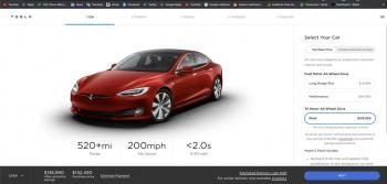 تيسلا تكشف النقاب عن طراز Model S Plaid