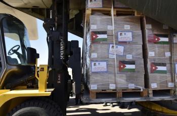 طائرة مساعدات اردنية الى اقليم كردستان العراق