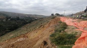 عودة حركة السير إلى طبيعتها على طريق إربد عمان خلال أسبوع