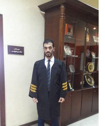 تهنئه للمحامي عدي شوفان الكور