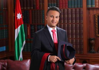 المهندس علاء العمرو ..  مبارك التخرج