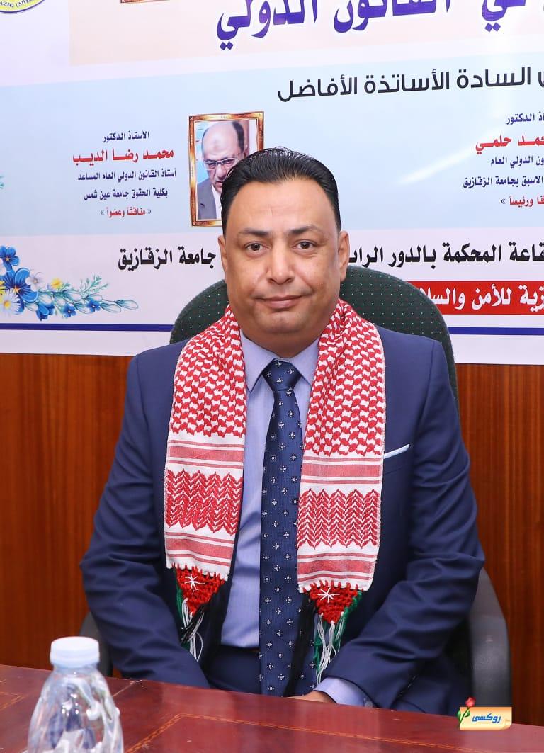 رامي العمري ..  مبارك الدكتوراة