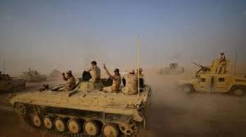 القوات العراقية  سيطرت  على مناطق واسعة في منطقة كركوك