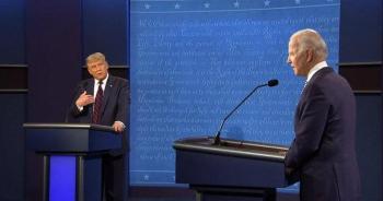 سجال وتبادل اتهامات بين ترامب وبايدن خلال المناظرة الرئاسية الأولى