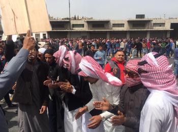 أردنيون يتحضرون لاستقبال الملك سلمان (فيديو وصور)