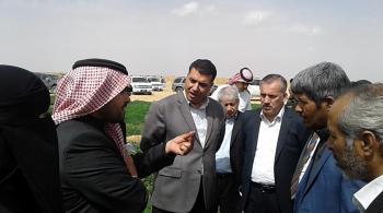 وزارة الزراعة تنفذ حملة تنموية بمنطقة الجفر