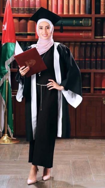 رهف محمد عبدالوهاب الحياري ..  مبارك التخرج