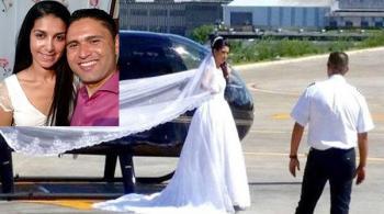 صور: مروحية تزف عروساً برازيلية إلى الموت