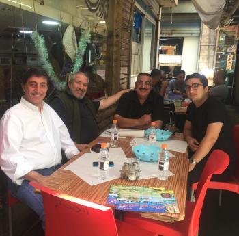 جودة في مطعم أبو حاتم