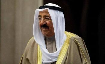 جثمان الشيخ الصباح يصل الكويت الأربعاء
