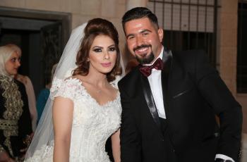 عمر العموري ووعد ابو هدهود زفاف مبارك