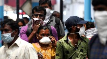 الهند تسجل 853 وفاة جديدة بفيروس كورونا