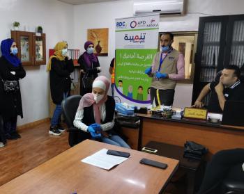 انطلاق 4 معسكرات شبابية عن بُعد في عجلون