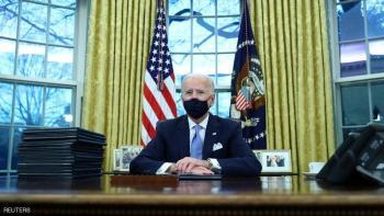 بايدن يتحدث عن رسالة ترامب السرية