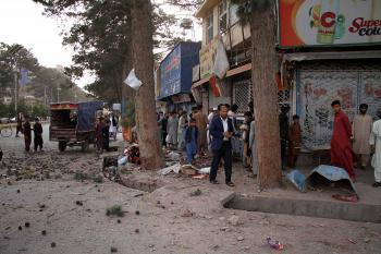 مقتل 16 شخصاً بهجوم سيارة مفخخة في أفغانستان