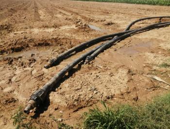 ضبط اعتداءات كبيرة على خط ناقل مياه الزارة