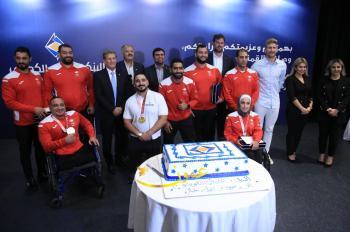الأردني الكويتي يكرم أبطال الأردن في طوكيو 2020