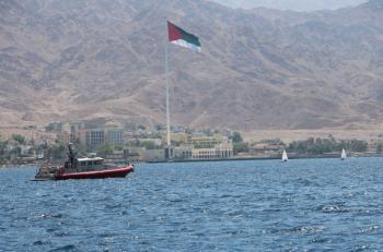 القوة البحرية تشارك بفعاليات الجمعية الملكية للرياضات البحرية