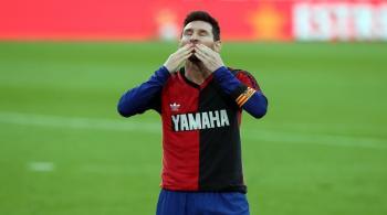 بعد لقطة تكريم مارادونا ..  برشلونة يستأنف ضد إنذار ميسي