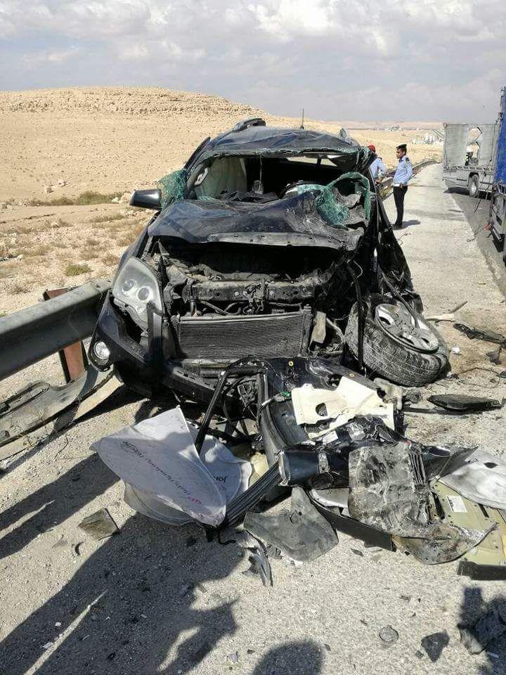 وفاة و3 اصابات بحادث تصادم في الزرقاء