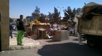 الأمانة تزيل 90% من المعرشات المخالفة في عمان