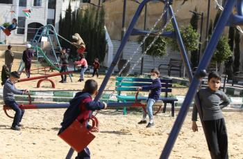 افتتاح حديقة زين في بلدية جرش الكبرى