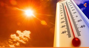 استمرار تأثير موجة الحرارة على المملكة اليوم