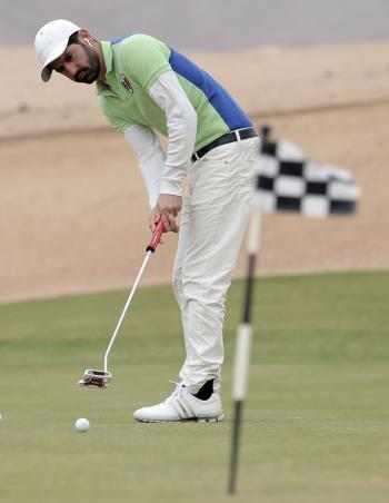 اللبنانيون يسيطرون على افتتاح بطولة الأردن للجولف