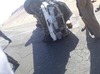 5 اصابات اثر حادث تصادم في دبة حانوت