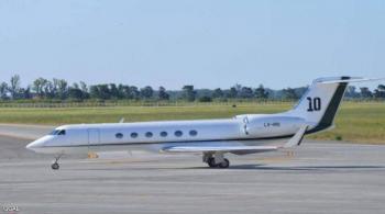 رئيس دولة يستأجر طائرة ميسي الخاصة