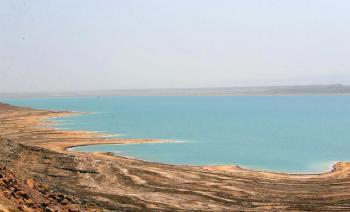 تدهور مركبة في البحر الميت ولا اصابات