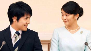 أميرة يابانية تتنازل عن مليون دولار ولقبها الملكي لتتزوج شاباً من العامة