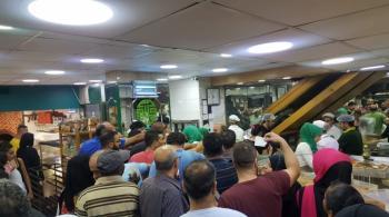 لبنان: ازدحام كبير على الأفران