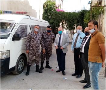 دائرة الشؤون الفلسطينية تقوم بجولة تفقدية لمخيمي البقعة والوحدات
