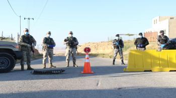 عزل وحظر شامل لبلدة النعيمة في إربد