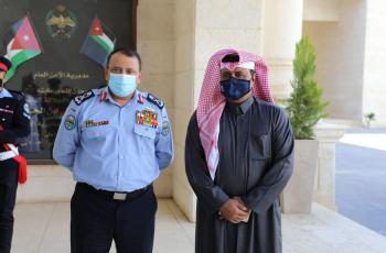 الحواتمة يلتقي رئيس الاتحادين القطري والعربي للرياضة الشرطية